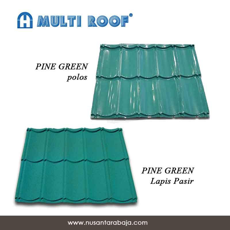 GENTENG-METAL-MULTI-ROOF-PINE-GREEN